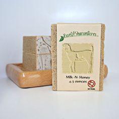 Milk N Honey Goat Milk Soap from Rose of by RoseOfSharonAcres