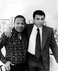 Jackie Robinson and Mohammad Ali