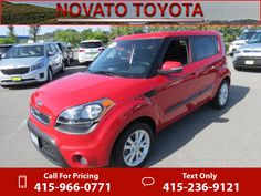 2013 Kia Soul ! Red Call for Price 15953 miles 415-966-0771 Transmission: Automatic  #Kia #Soul #used #cars #NovatoToyota #Novato #CA #tapcars