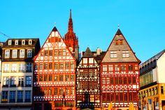Backpacking through Europe Part 7: Frankfurt - Carrot Tops