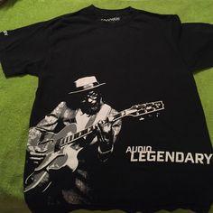 Audio legendary black t shirt 100% cotton, medium, black tshirt Tops Tees - Short Sleeve