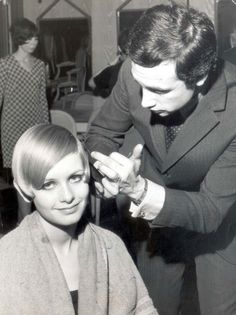 The haircut that launched Twiggy's career by Leonard Lewis 1966