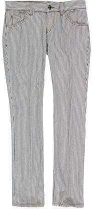 Gucci Pinstripe Straight-Leg Jeans Bermuda Shorts, Gucci, Denim, Stylish, Jeans, Tops, Women, Fashion, Moda