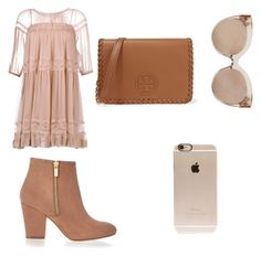 """""""Untitled #64"""" by lyana-chavarria on Polyvore featuring N°21, River Island, Tory Burch, Linda Farrow and Incase"""