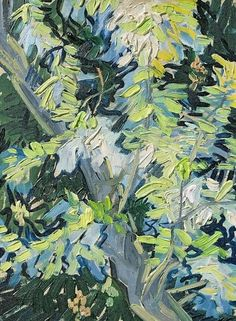Blossoming Acacia Branches by Vincent van Gogh