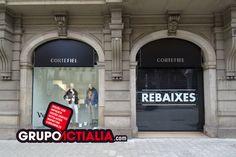 Avinguda Diagonal, Barcelona. Grup Actialia ofrece sus servicios en Barcelona: Diseño web, Diseño gráfico, Imprenta y Rotulación. www.grupoactialia.com