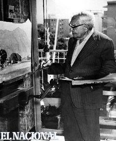 Manuel Cabré -  Nace el 25 de enero de 1890, Barcelona, España - Fallece el 26 de febrero de 1984, Caracas - El pintor de El Avila