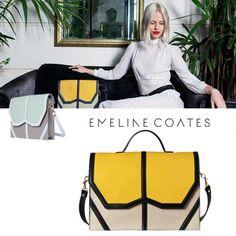 Emeline Coates, des sacs à main qui vous iront bien.  Univers élégant, chic et indémodable. Nous adorons, vous adorerez. Gym Bag, Shoulder Bag, Shoulder Bags, Purse, Elegant Chic, Universe, Night, D Day, Bags