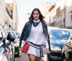 Lets do this - PFW • @handinfire #tiffanyhsu #pfw #loewe #paris #style #mode #moda #fashion #streetstyle #streetfashion #theoutsider #theoutsiderblog #diegozuko (at Paris, France)