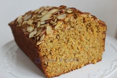 Queque de avena, zanahorias y almendras Cooking For Dummies, Tasty Vegetarian Recipes, Good Food, Yummy Food, Pan Dulce, Sweet Cakes, Dessert Recipes, Desserts, Carrot Cake