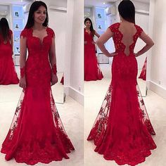 #red #tulle #prom #party #evening #dress #dresses #gowns #cocktaildress #EveningDresses #promdresses #sweetheartdress #partydresses #QuinceaneraDresses #celebritydresses #2017PartyDresses #2017WeddingGowns #2017HomecomingDresses #LongPromGowns #blackPromDress #AppliquesPromDresses #CustomPromDresses #backless #sexy #mermaid #LongDresses #Fashion #Elegant #Luxury #Homecoming #CapSleeve #Handmade #beading