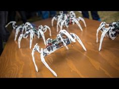 Robot Spiders Controlled by Intel's Edison Chip | HIGH T3CH