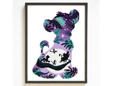 Thrilling Designing Your Own Cross Stitch Embroidery Patterns Ideas. Exhilarating Designing Your Own Cross Stitch Embroidery Patterns Ideas. Disney Cross Stitch Kits, Cross Stitch Art, Simple Cross Stitch, Counted Cross Stitch Kits, Cross Stitch Embroidery, Embroidery Patterns, Cross Stitches, Hand Embroidery, Cross Stitch Patterns Free Disney