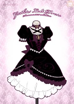 Gothic Loli Dress by Neko-Vi on DeviantArt