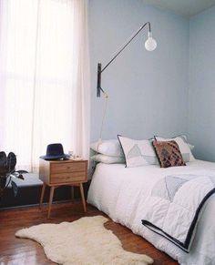 Mid-Century Modern Bedroom-10-1 Kindesign