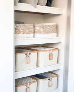 If your storage cupboard is in desperate need of a clean up, here are some handy tips that will save you space and keep it looking neat and organised. Airing Cupboard, Linen Cupboard, Cupboard Storage, Wardrobe Organisation, Linen Closet Organization, The Home Edit, Cupboard Design, Staying Organized, Room Inspiration