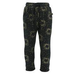 METOO spodnie baggy z bawełny dresowej MARIN MINI 204349 kol.Tap Shoe