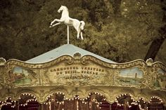 French merry go round, very whimsical