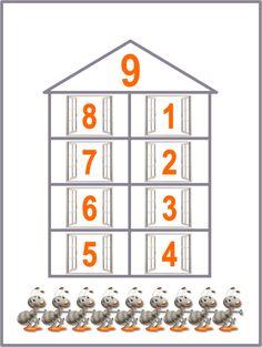 Как объяснить ребенку состав числа до 10 👍 и 20 (учим по домикам) Abacus Math, School Frame, Montessori, Diy And Crafts, Holiday Decor, Blog, Puzzle, Puzzles, Blogging