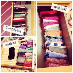 Метод Конмари: порядок в шкафу и жизни - лайфхак, организация пространства, уборка, советы хозяйкам, как складывать вещи