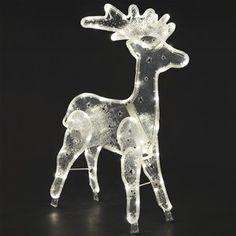 Konstsmide 3903-100 LED 3D Foldable Rope Reindeer Silhouette