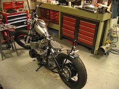 Another amazing CB. This time from The Anchor Motorcycle Shop.