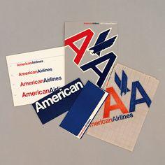 American Airlines corporate identity - Massimo Vignelli
