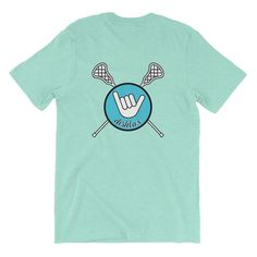 Hang Loose Tee Mint/Turquoise Lacrosse Quotes, Lacrosse Gear, Game Changer, Bat Mitzvah, Hoodies, Sweatshirts, Tanks, Cute Outfits, Mint