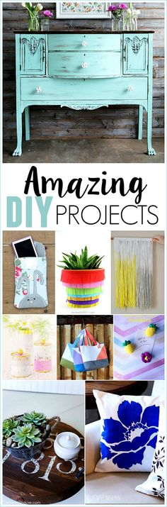 Amazing DIY projects! Check them out!