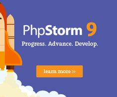 PhpStorm 9のバナーデザイン