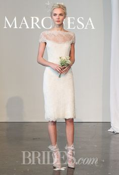 Brides: Jennifer Aniston Wedding Dress Predictions from the Bridal Fashion Week Runways