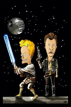 Star Wars / Beavis & Butthead