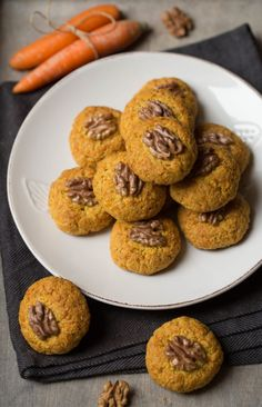 Mrkvovo – pomarančové keksíky | Angie Baby Food Recipes, Yummy Food, Cookies, Breakfast, Desserts, Recipes For Baby Food, Crack Crackers, Morning Coffee, Tailgate Desserts