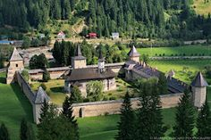 Sucevita Monastery, Bucovina Homeland, Places Ive Been, Mansions, House Styles, Pictures, Photos, Manor Houses, Villas, Mansion