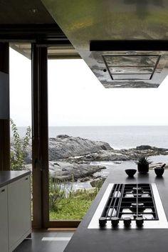 Un salón con grandes ventanales: ideas