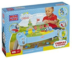 Mega Bloks Thomas & Friends Busy Day at Knapford Table -- You can find more details by visiting the image link.