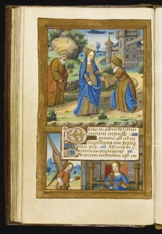 Book of Hours, Use of Rome, in Latin, illuminated manuscript on vellum [northern France (Paris), Card Weaving, Tablet Weaving, High Middle Ages, Book Of Kells, Book Of Hours, Viking Age, Dark Ages, Illuminated Manuscript, Hand Coloring