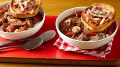Bacon Mushroom Swiss Cheeseburger Soup Attention mushroom lovers -- your favorite hamburger is now a soup!