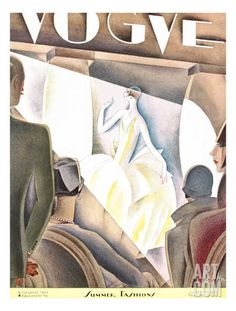 Vogue Cover - June 1926 Regular Giclee Print by William Bolin at Art.com