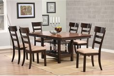 Dining Room Furniture - Camden 7-Piece Dining Package
