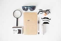 Spy necessities - great for a gift, boredom buster, or car rides!