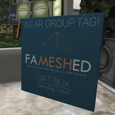 26 Group Gifts for FaMESHed Anniversary by Various Designers - Teleport Hub Second Life, Paper Shopping Bag, The Creator, Designers, Anniversary, Unisex, Group, Gifts, Favors