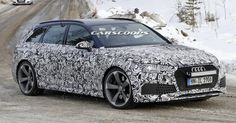 2018 Audi RS4 Avant Is About To Return In All Its Fender-Flared Glory #Audi #Audi_RS4