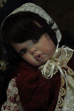 Victorian Gothic Twilight Vampire Toddler Reborn Baby Doll