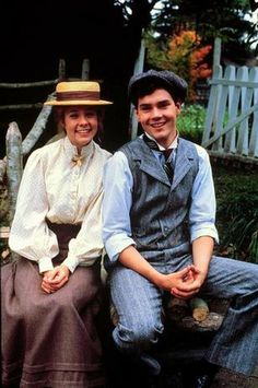 One of my favorite couples is Anne Shirley and Gilbert Blithe. Enemies turned soul-mate's.  (Various movies, but it started with Anne of Green Gables)