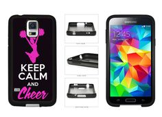 Keep Calm And Cheer Phone Case - Samsung Galaxy s3 s4 s5 s6 s7 Edge Plus Note 2 3 4 5 7 by PrintMeUpDesigns on Etsy https://www.etsy.com/listing/238131948/keep-calm-and-cheer-phone-case-samsung