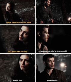 the originals 2x21 I Love how even though he wants his aunt to believe he's on her side, he truly is making her suffer for trying to steal hope.