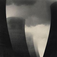 Michael Kenna | Ratcliffe Power Station, Study 40  Nottinghamshire, England (2003)