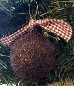 Primitive christmas ornament primitive by handmadesbyhelenk