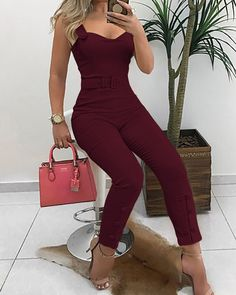 Shop Sexy Trending Bodycon Dresses – Chic Me offers the best women's fashion Bodycon Dresses deals Trend Fashion, Fashion Outfits, Fashion Styles, Fashion Top, Fashion Boots, Fashion Design, Vetement Fashion, Bodycon, Casual Jumpsuit